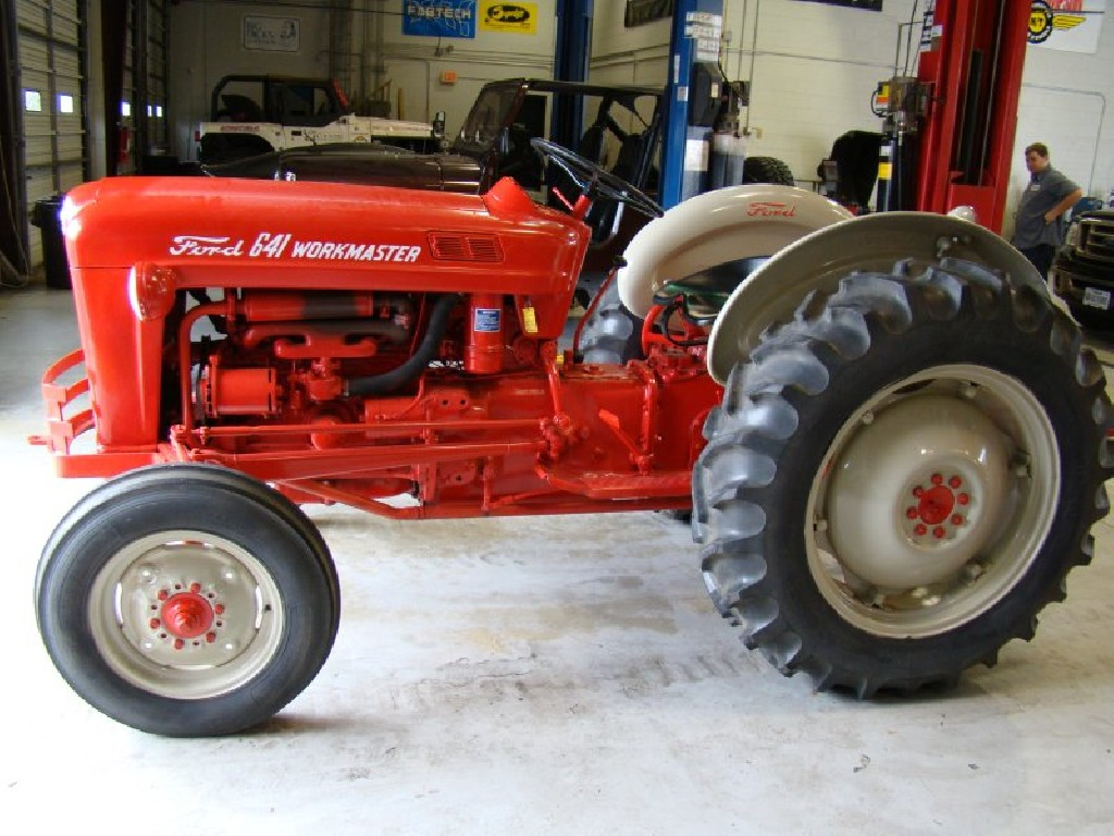 1960 Ford Tractor 601 : Ford workmaster pictures to pin on pinterest